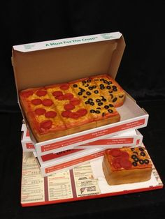 amazing pizza cake