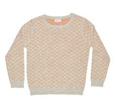Boyssweater Firmin Flaxen Woodsmoke