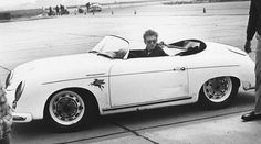 This is James Dean at Santa Barbara's airport course
