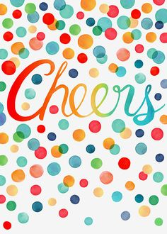 Margaret Berg Art: Cheers+Confetti