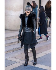 #LubakiLubaki | #AlexandreGaudin  @Hwahwalala During #PFW  www.lubakilubaki.com by Alexandre Gaudin  #StreetStyle #HwahwaLala #Woman #Dark #AllBlack #AvantGarde #AvantGardeFashion #Rick Owens #Street #Style #Photo #NoFilter #Look #StreetFashion #WomensStyle #Mode #Outfit #ootd #Fashion #FashionWeek #FashionWeekParis #PFW16 #FW16 #WomensWear #Photographer #StreetStylePhotographer #Paris http://ift.tt/1Xuq84t