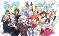 Tsukiuta The Animation, 4th Anniversary, Twitter, Game, Ball Gowns, Group, Stuff Stuff, Pictures, Drawing Drawing