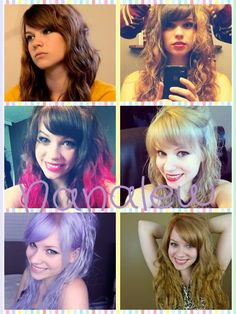 My favorite things about youtubers....nanalew (shawnas) hair