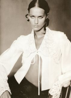 Lisa Ratliffe by Paolo Roversi for Vogue Italia