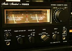 The VU meter   The Stereo Museum / FISHER CR-4150 (aka SANYO RD-880)