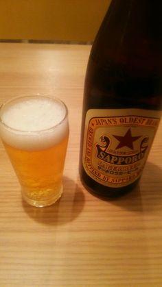 憧れの仕事後のビール!
