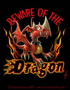 Beware Of The Dragon by Anne Stokes Dragon Hatchling Egg Baby Babies Cute Funny Humor Fantasy Myth Mythical Mystical Legend Dragons Wings Magic Art Whimsy ~Ironshod on deviantART Dragon 2, Fantasy Dragon, Baby Dragon, Fantasy Art, Fantasy Drawings, Anne Stokes, Magical Creatures, Fantasy Creatures, Dragon Quotes