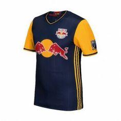 New York Red Bulls 2017-18 Season Away Navy MLS Soccer Shirt Jersey [J909]