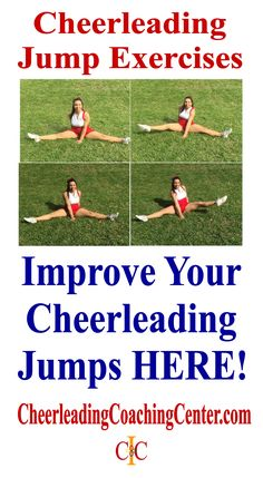 Are you ready to improve your jumps? Check out these cheerleading exercises on CheerleadingCoachingCenter.com :-)