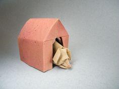 Origami Dog House