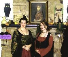 Witches night out at Gardner village