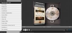 A complete audio gallery solution made with HTML5/CSS3/jQuery-JS/C#