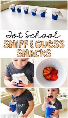 Tot School: Five Senses - Mrs. Plemons' Kindergarten