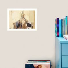Hommage À Beardsley I Art Print by Ute Rathmann