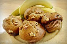 Banaan-noten muffin