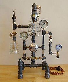 Lampe Aus Wasserrohren 277 besten lampe wasserrohr bilder auf pinterest | pipes, industrial