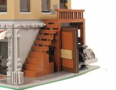 Corner Hardware Store - modular Building: A LEGO® creation by Brian Lyles : MOCpages.com