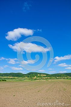 #Agricultural #Field In #North #Burgenland Near #Donnerskirchen At #Lake #Neusiedl #Bike #Way @dreamstime #dreamstime #landscape #nature #season #spring #summer #outdoor #farming #bluesky #travel #vacation #holidays #stock #photo #portfolio #download #hires #royaltyfree