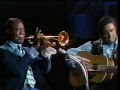 "Louis Armstrong on ""The Johnny Cash Show"" - complete and uncut. #louisamstrong #johnnycash"