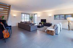 Betonlook tegels - Houten Vloeren Morefloors Breda Decor, Furniture, Room, Home, Room Divider, Divider