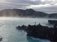 The Blue Lagoon - steaming hot natural spa