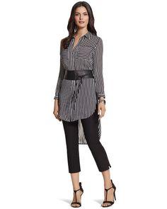 34142129e84669 Striped Pocket Play Nikki Shirt