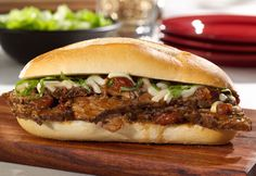 A few minutes prep in the morning before work and a few minutes when you get home is all it takes to make these tasty beef sandwiches everyone will enjoy. They're loaded with great flavor and are sure to become a weeknight favorite!