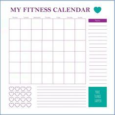 Work Out Schedule Templates Elegant Fitness Calendar Template Gym Calendar, Workout Calendar Printable, Free Printable Calendar Templates, Monthly Calendar Template, Printable Workouts, Calendar Pages, Fitness Calendar, Schedule Templates, Exercise Calendar