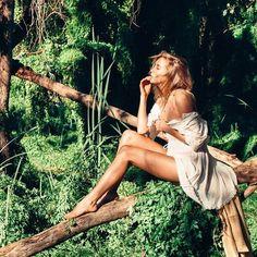 Imagem de girl, fashion, and nature