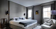 Grey bedrooms ideas modern