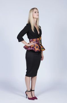 Print Peplum Belt yep must have