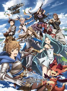 Good news for fans of GRANBLUE FANTASY: The Animation, a fantasy TV anime based on the smart phone RPG developed by Cygames: according to the show's Anime & Manga Granblue Fantasy Characters, Mega Lucario, Upcoming Anime, Character Art, Character Design, Tokyo Otaku, Anime Watch, Anime Reviews, Online Anime