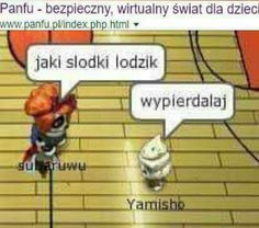 Funny Images, Funny Pictures, Chat Games, Polish Memes, Funny Mems, Lol, Wtf Funny, Reaction Pictures, Dankest Memes