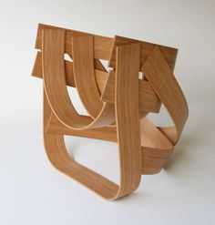 Bamboo Chair - The Bamboo Chair by Tejo Remy and Rene Veenhuizen defies convention thanks to its complex and curvilinear design. This limited edition furniture pi...