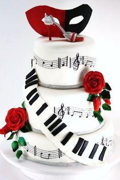 Musical theater.... Hello 25th birthday cake