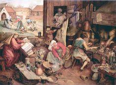 alchemist by peter bruegel