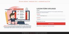 Login Design - Absensi Online (Energeek)