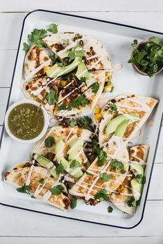 Butternut Squash Quesadilla with Caramelized Onion | The Modern Proper