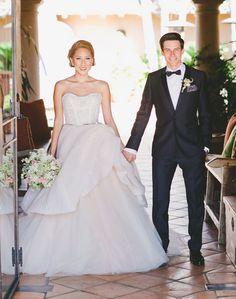 Rose Gold Inspired Wedding
