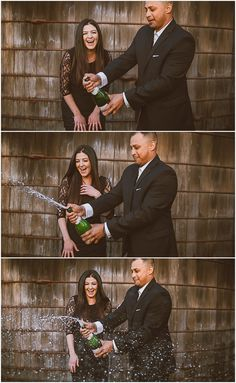A fun way to celebrate an engagement!   Photos by Katherine Elyse Photography.   WWW.KATHERINEELYSEPHOTOGRAPHY.COM