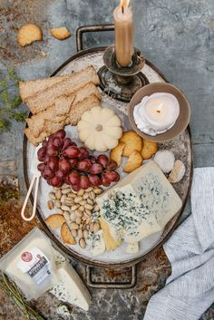 HOLIDAY CHEESE BOARD WITH BUTTERMILK BLUE CHEESE — Edible Living . .  . . . #rothcheese #cheeselover #bluecheese #thanksgiving #holidayentertaining #sponsored Antipasto, Catering Food Displays, Fruit Displays, Celery Salad, Blue Cheese Salad, Cheese Cultures, Cheese Platters, Cheese Table, Cheese Tasting