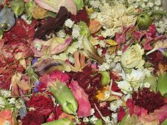 Natural Dried Mixed Flower Potpourri. by CountrySquirrelsNest,