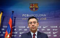 Presidente do Barça boicota Bola de Ouro e escreve carta para Blatter #globoesporte
