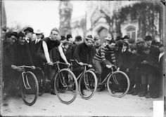 CALUMET 412 — A bicycle race starting at the Water Tower,...