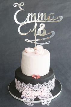 Eighteenth birday cake