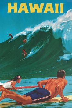 9 Vintage Hawaii Travel Posters (That Will Make You Want To Pack Your Bags!)