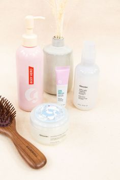 The Wedding Day Skincare Prep Set features four of Glossier's moisturizing skincare heroes -- the conditioningMilk Jelly Cleanser, nourishingBalm Dot Comlip balm, ultra-hydratingMoon Mask, and skin-softeningDaily Oil Wash. Get glowing from head to toe for your big day!#StyleMePretty #Glossier #WeddingBeauty #WeddingSkinCare Bridal Beauty, Wedding Beauty, Perfecting Skin Tint, Stretch Concealer, Milky Jelly Cleanser, Glossier You, Cleanser For Oily Skin, Priming Moisturizer, Day Glow