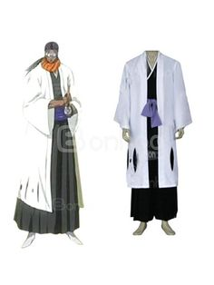 Bleach 9th Division Captain Tousen Kanamei Men's cosplay costume