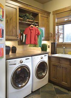 Nice Laundry Area - Plan 011S-0001 | houseplansandmore.com