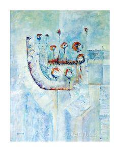 Akryl na plátně / Acrylic on canvas  41,5 x 53
